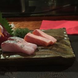 Ocean Trout and Trevally Sashimi